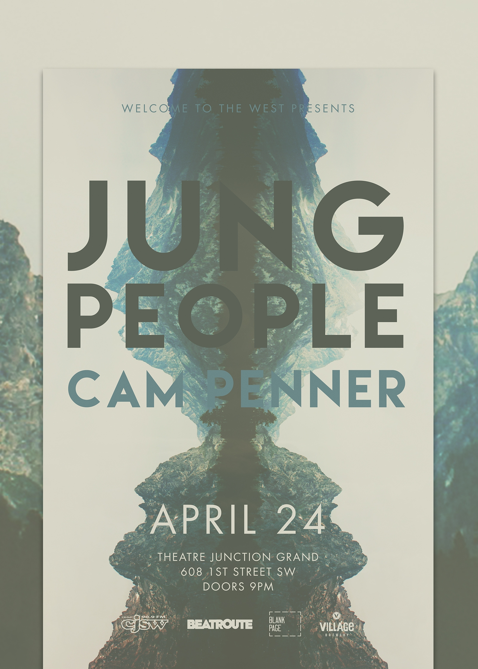 Jung People Poster