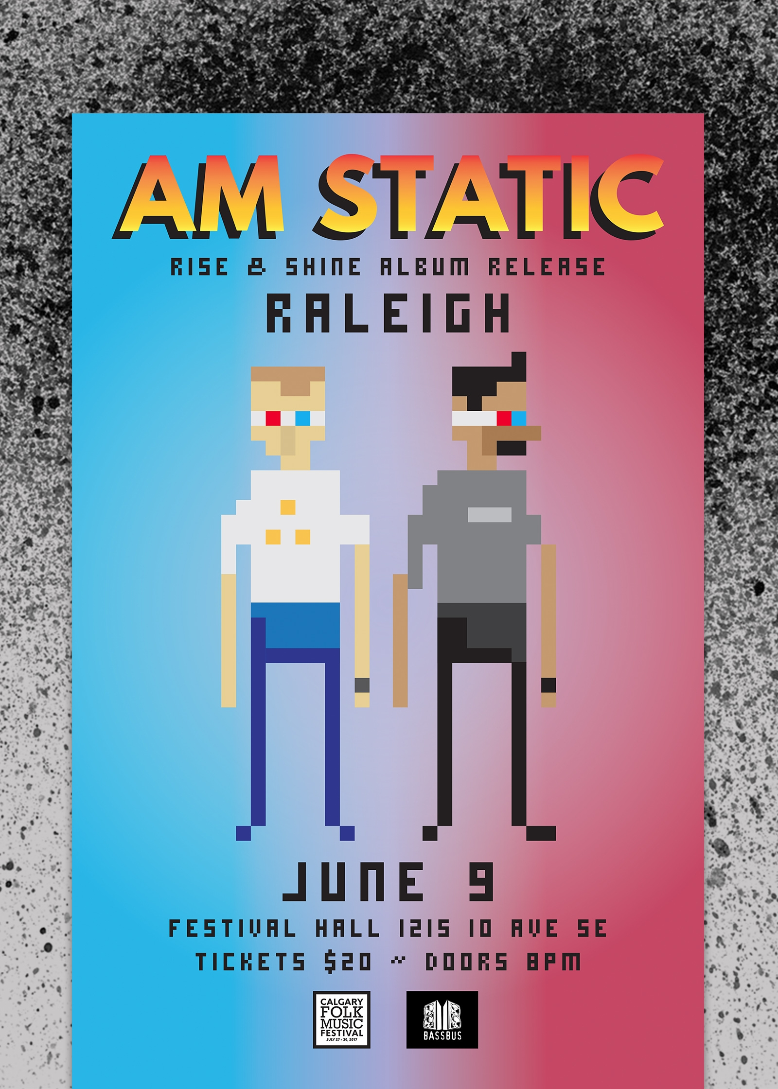 AM Static Poster