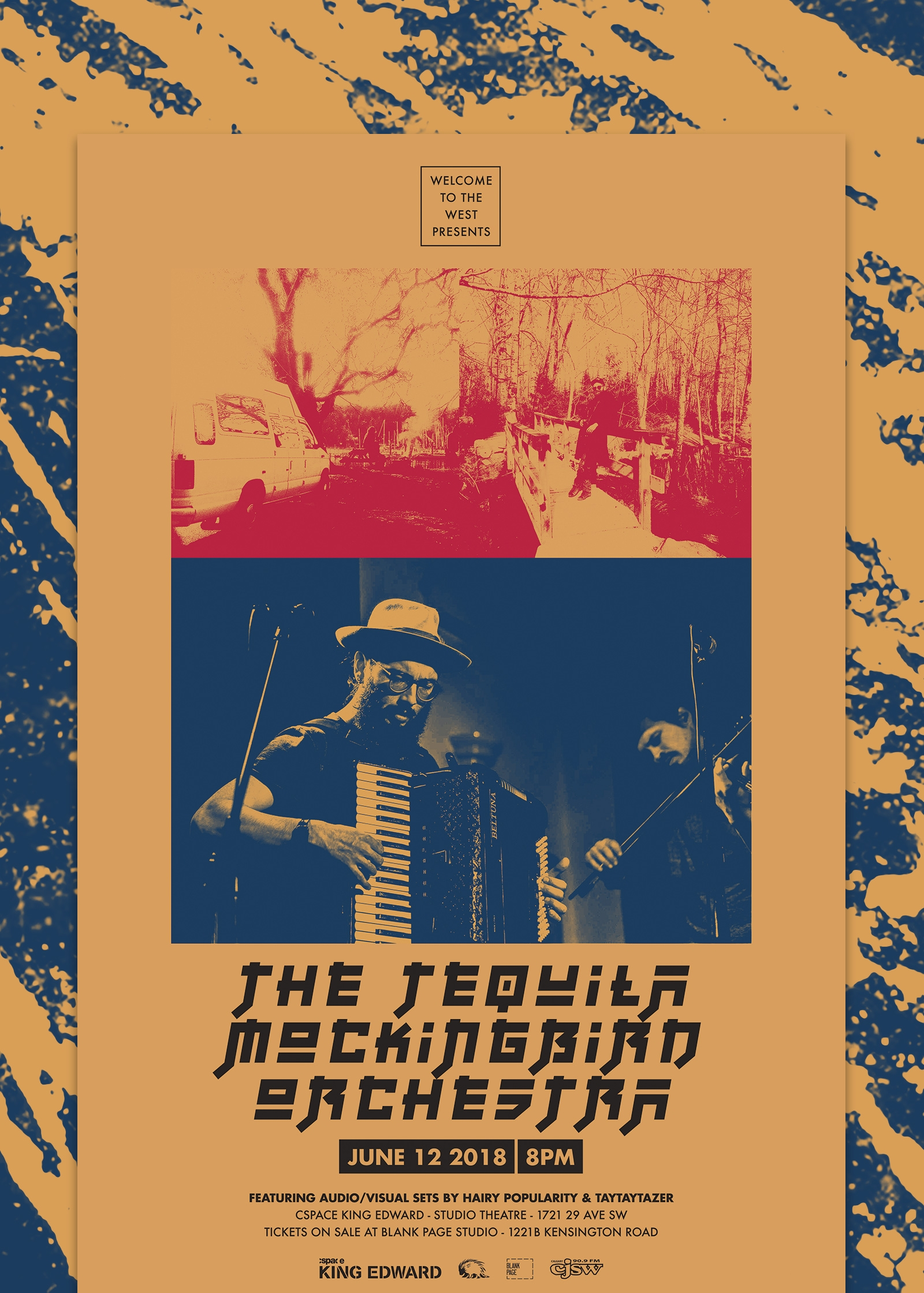 Tequila Mockingbird Orchestra Poster